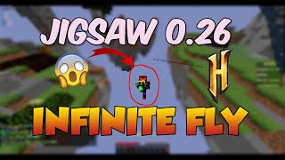 Hypixel 10+ Block Reach with Fly! | Jigsaw 0 26 Minecraft Hacked