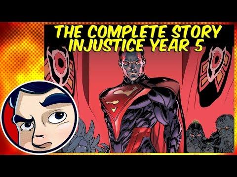 Injustice Year 5 PT 1 (Superman VS Doomsday)