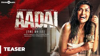 Download Aadai - Tamil Official Teaser | Amala Paul | Rathnakumar | Pradeep Kumar, Oorka | V Studios | 4K Video