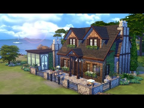 Seaview Cottage ⛵ || The Sims 4 Family Home: Speed Build