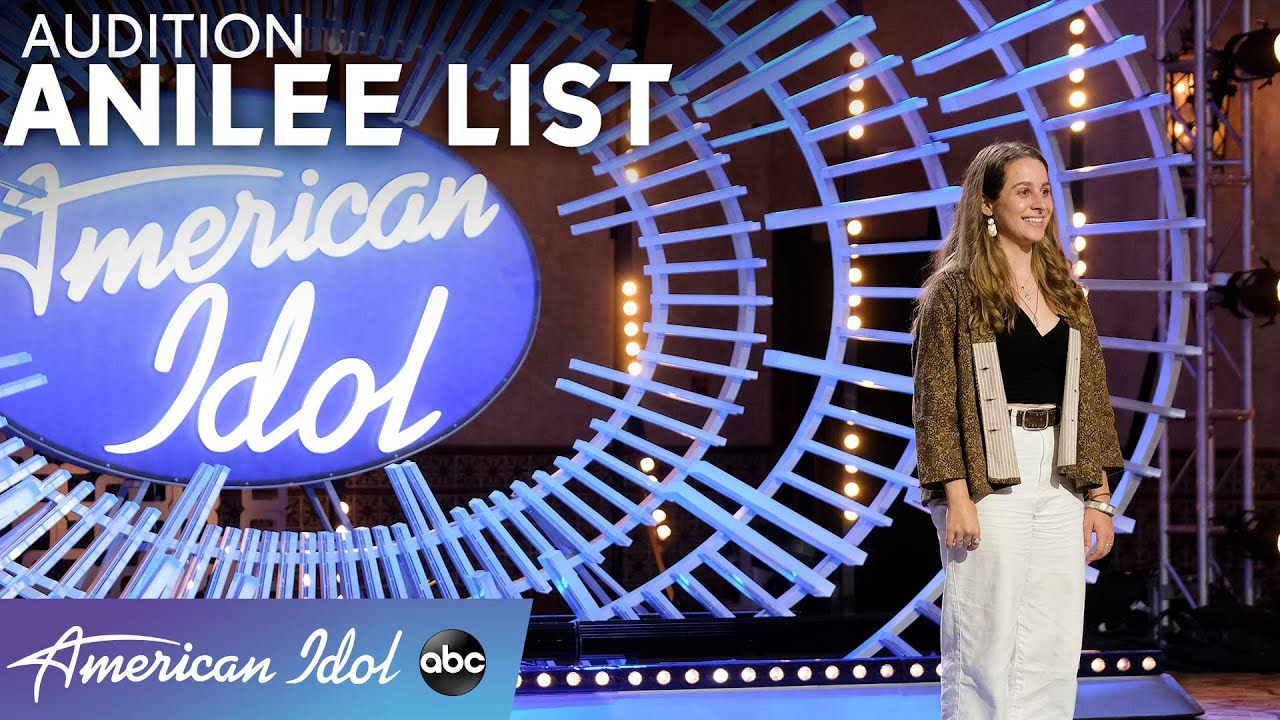 Anilee List Gets Standing Ovation From Judges And A Surprise From James Durbin - American Idol 2021