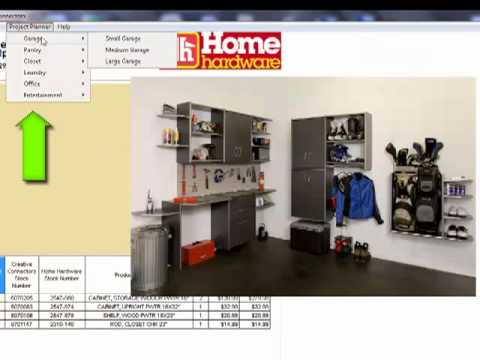 Creative Connectors Home hardware project Planner Demo