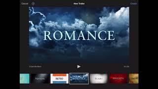 iMovie Trailer Tutorial