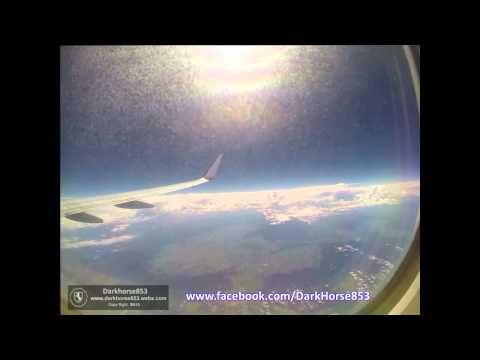 Virgin Australia Flight VA1534 from Sydney to Hobart 05012015