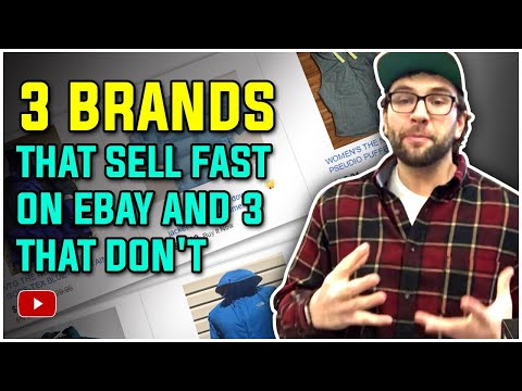 3 Brands That Sell FAST on eBay and 3 That Don't