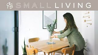 SMALL LIVING ep.3 - Styling tips, ideas and DIY for small spaces