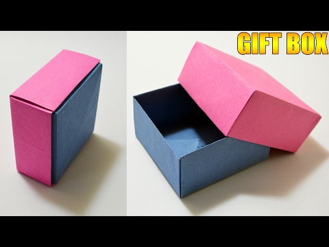 Origami GIFT BOX with Cover - Easy
