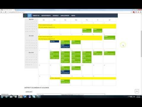 Adding JPS Calendars to Desktop Outlook