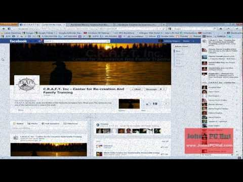 How to Change a Business Fan Page to Facebook Timeline Video