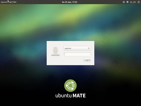 """Ubuntu MATE 15.04 """"Vivid Vervet"""" amd64. Ubuntu and MATE Desktop"""