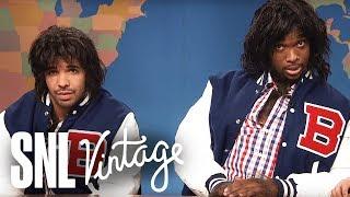 Weekend Update: Two Teenagers Dressed as Werewolves (Drake, Jay Pharoah) on Halloween - SNL