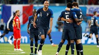 France awaits England or Croatia in World Cup final