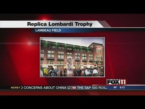 50-Foot replica Lombardi Trophy planned for Lambeau Field