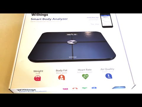 Withings WS-50 Wireless Smart Body Analyzer - Unboxing - Setup and Tests!