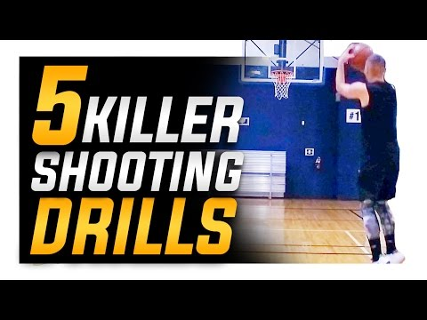 5 Killer Basketball Shooting Drills: How to Shoot a Basketball