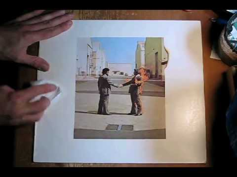 Tip for Restoring White Record Covers