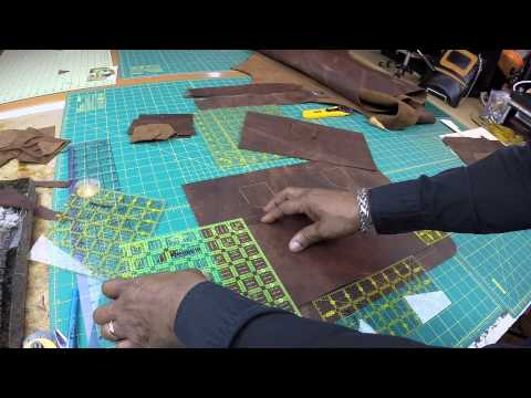 How To Make A Leather Bag Without A Lining Part 1