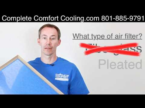 Compare Furnace and Air Conditioner Filters. What kind of air filter should you buy?