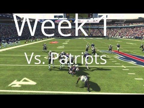 Buffalo Bills   Madden 25 Franchise - Week 1 vs. New England Patriots - Season One (Ft. Tom Brady)
