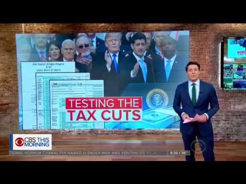 CBS asked an accountant how tax cuts will affect families.