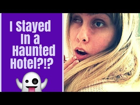 I STAYED IN A HAUNTED HOTEL?!? - STORYTIME!