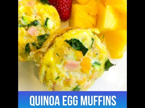 Quinoa Egg Muffin Recipe