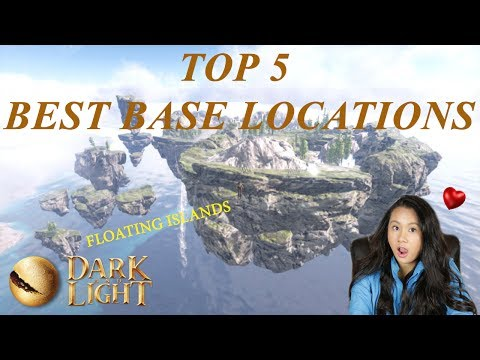 Top 5 Best Base Locations - The Sacred Path Map - Dark and Light