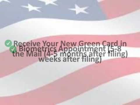 How much days to get the green card after filing I-90?