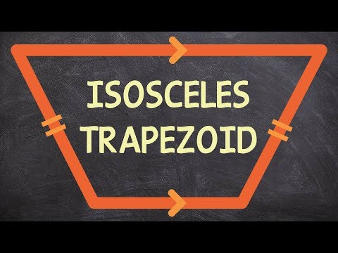 What is an isosceles trapezoid