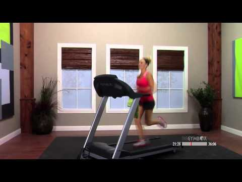 Treadmill workout video with Shelly - 60 Minutes