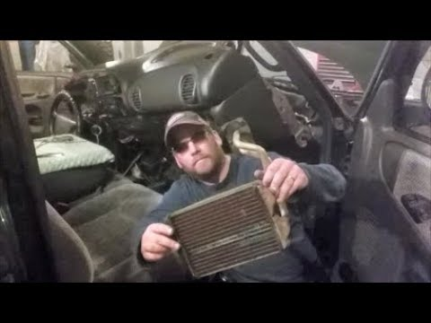 Heater Core Replacement On Dodge Truck