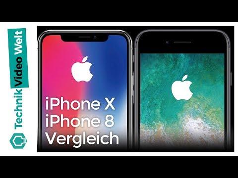 iPhone X oder iPhone 8? Der Vergleich