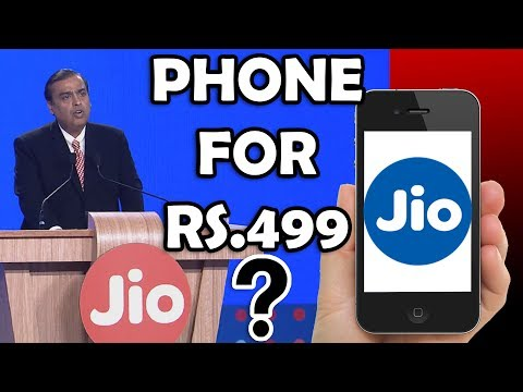 JIO PHONE FOR Rs.499 // AGM 2017// JIO // BEST BUDGET PHONE FOR INDIA