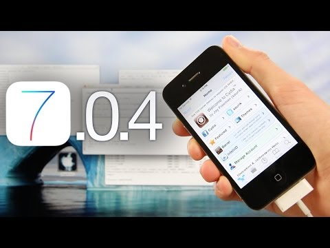 NEW Jailbreak 7.0.4 Tethered iOS iPhone 4,RageBreak & Cydia