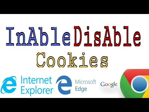 How To Enable and Disable Cookies || Google Chrome|| Microsoft Edge || Internet Explorer || Hemil ||