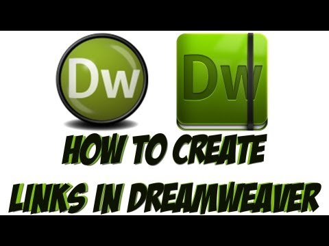 Dreamweaver Tutorial - How To Link Pages In Dreamweaver