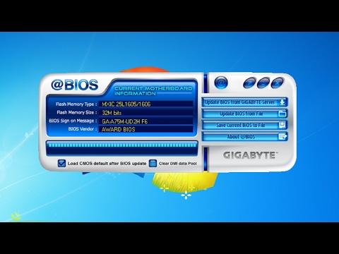 Aktualizacja BIOSu Płyty głównej Gigabyte pod windowsem | How to BIOS Update Motherboard Gigabyte