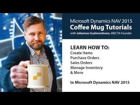 05 - Inventory Cost Update in Microsoft Dynamics NAV 2015