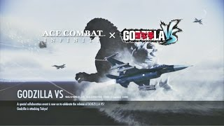 Ace Combat Infinity (X-02) Team Deathmatch (Tokyo Skies