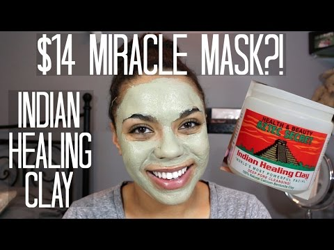 Aztec Secret Indian Healing Clay Review + Demo | samantha jane