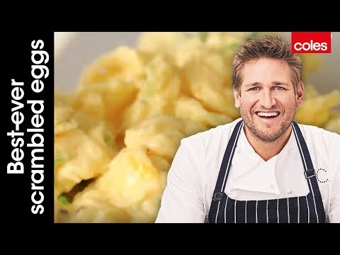 Best-ever scrambled eggs with Curtis Stone