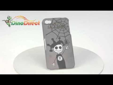 Happy Halloween Pattern Hard Plastic Back Cover Case Protective for iPhone 4  from Dinodirect.com