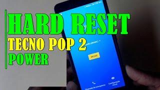 Tecno B1p Pop 2 Power Hard Reset Pattern Pin Password Unlock