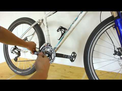 How to remove bicycle pedals - a simple trick to remember