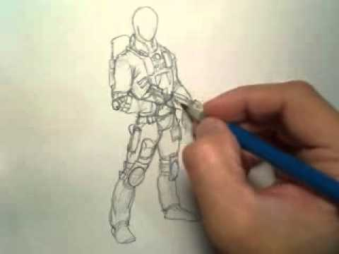 The Sketch Book (3D Character Design) Part: 2