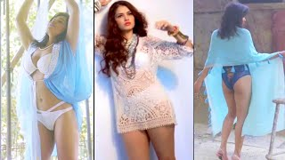 Indian Actress's Hottest Lingerie Photoshoot Hot Edit (Behind The Scene)
