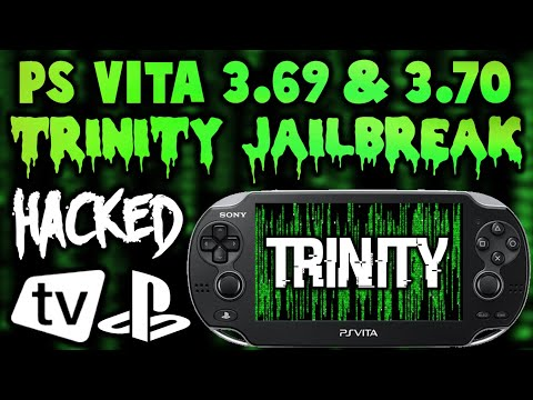 PS Vita Installing Trinity 3 69 & 3 70 Custom Firmware