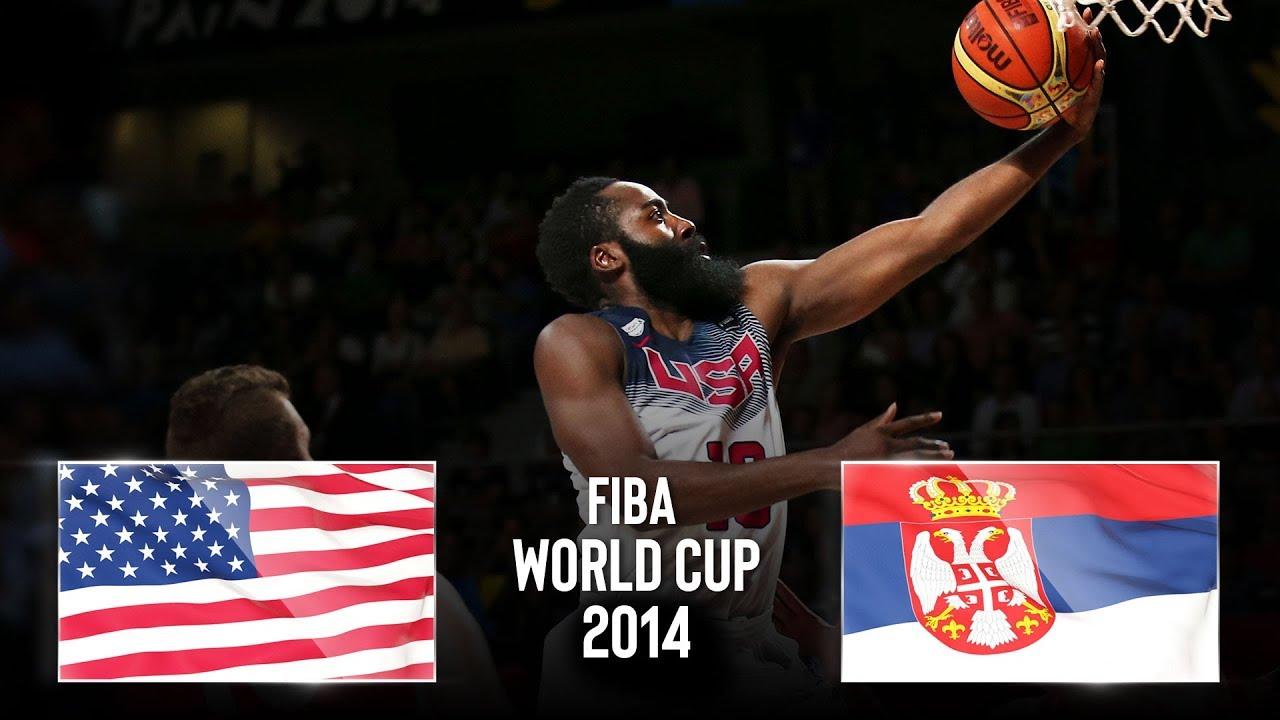 USA 🇺🇸 v Serbia 🇷🇸 - Classic Full Games | FIBA Basketball World Cup 2014