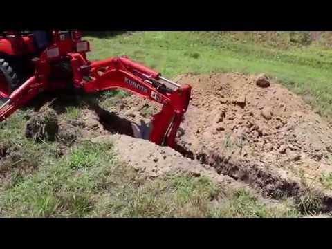 BXpanded Narrow Trencher Bucket in Action - PakVim net HD