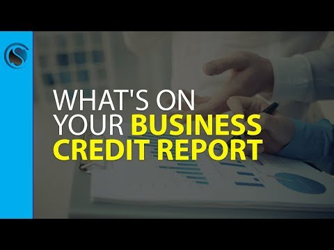 What's on YOUR Business Credit Report?